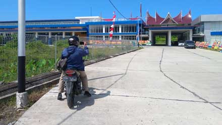 Terminal Type A Anak Aia di Kota Padang