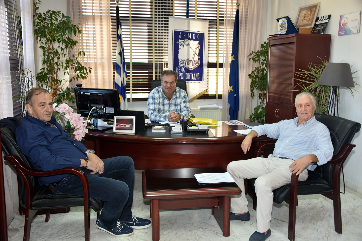 Υπεγράφη η σύμβαση για την κατασκευή του Νέου Κλειστού Γυμναστηρίου Ν. Μουδανιών