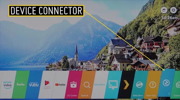cara menyambungkan iphone ke tv lg