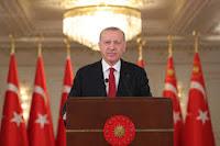 إعلان الرئيس التركي رجب طيب أردوغان نجاح إطلاق صواريخ جوجو