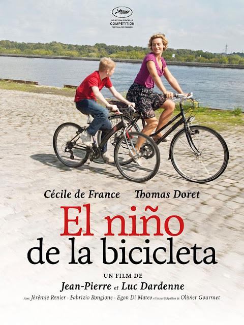 Cartel: El niño de la bicicleta (2011)