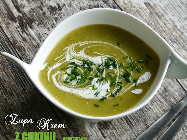 Zupa krem z cukinii - najprostsza - Czytaj więcej »