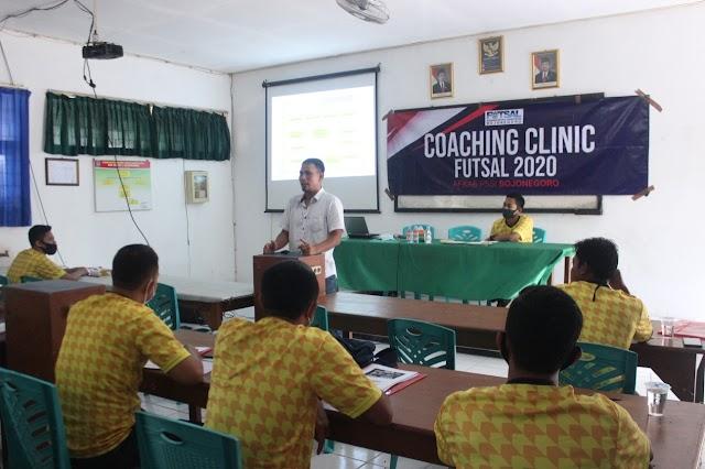 Upaya AFKAB Bojonegoro Tingkatkan Kualitas Pelatih Futsal