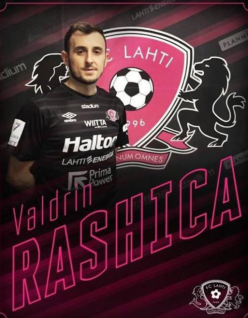 Valdrin Rashica signs for the Finnish team FC Lahti