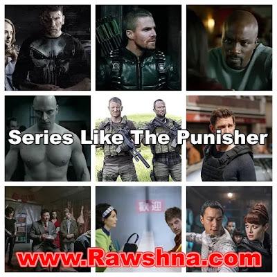افضل عشر مسلسلات مثل The Punisher على الاطلاق