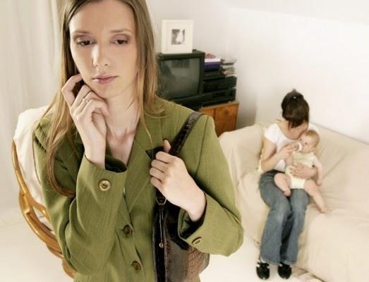 volta da licença maternidade