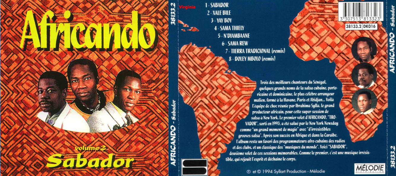 descargar full ya africando sabador vol 2 1994