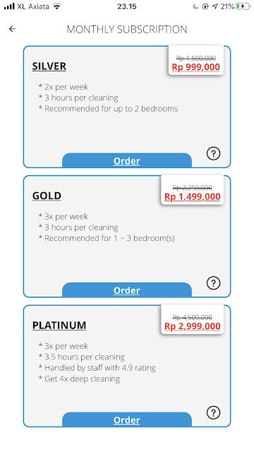 Service Premium Berlangganan