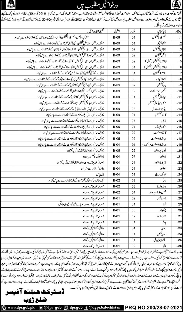 Latest Health Department - District Health  Authority  DHA Latest Jobs 2021 Latest Health Department - District Health  Authority  DHA Latest Jobs 2021