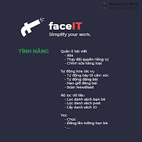 faceIT - Công cụ hữu ích cho Facebook