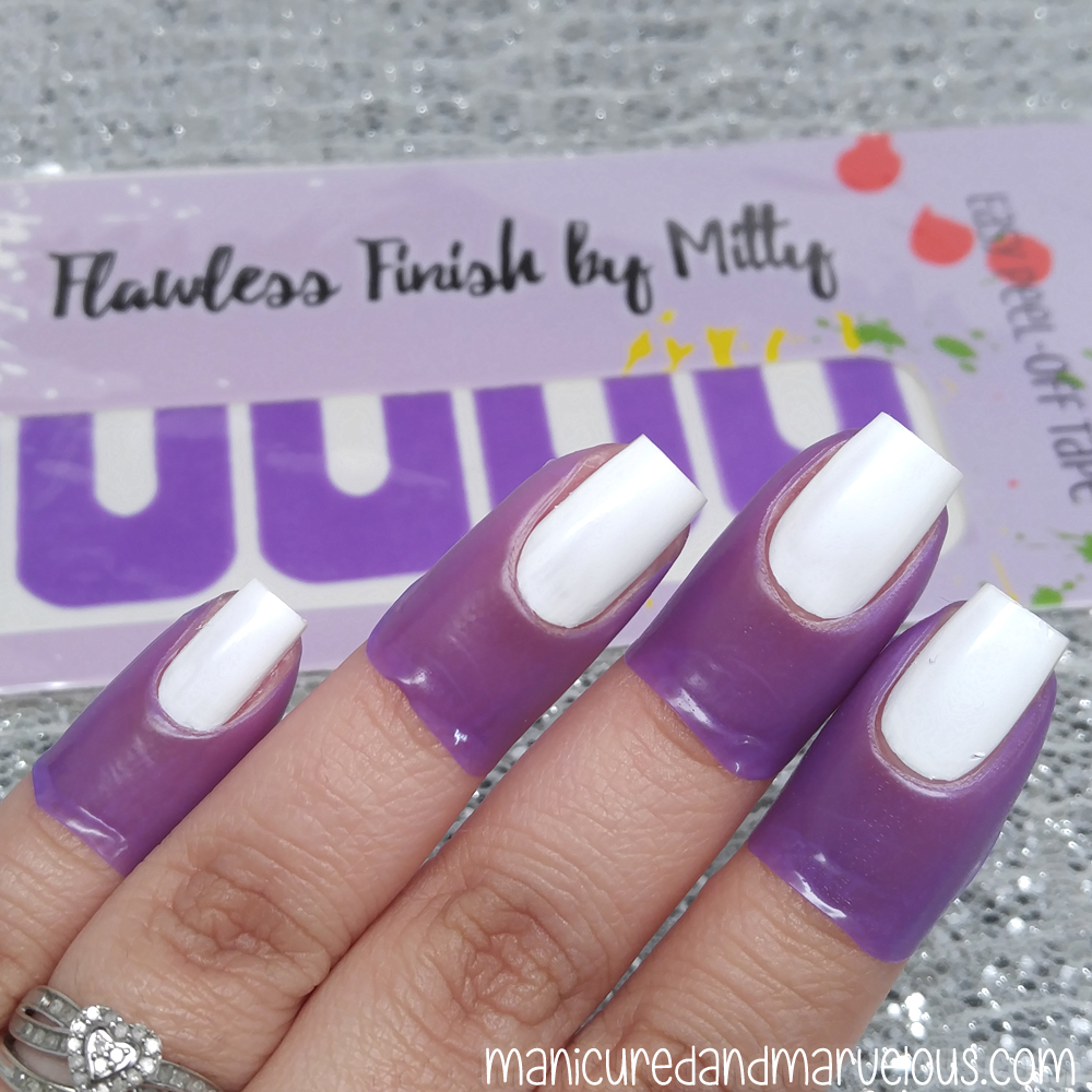 Mitty - Flawless Finish Peel Off Mani Tape Review - Manicured ...