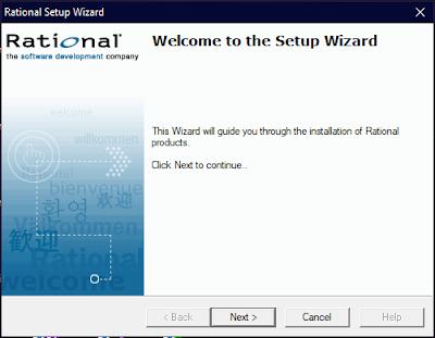 Rational Setup Wizard