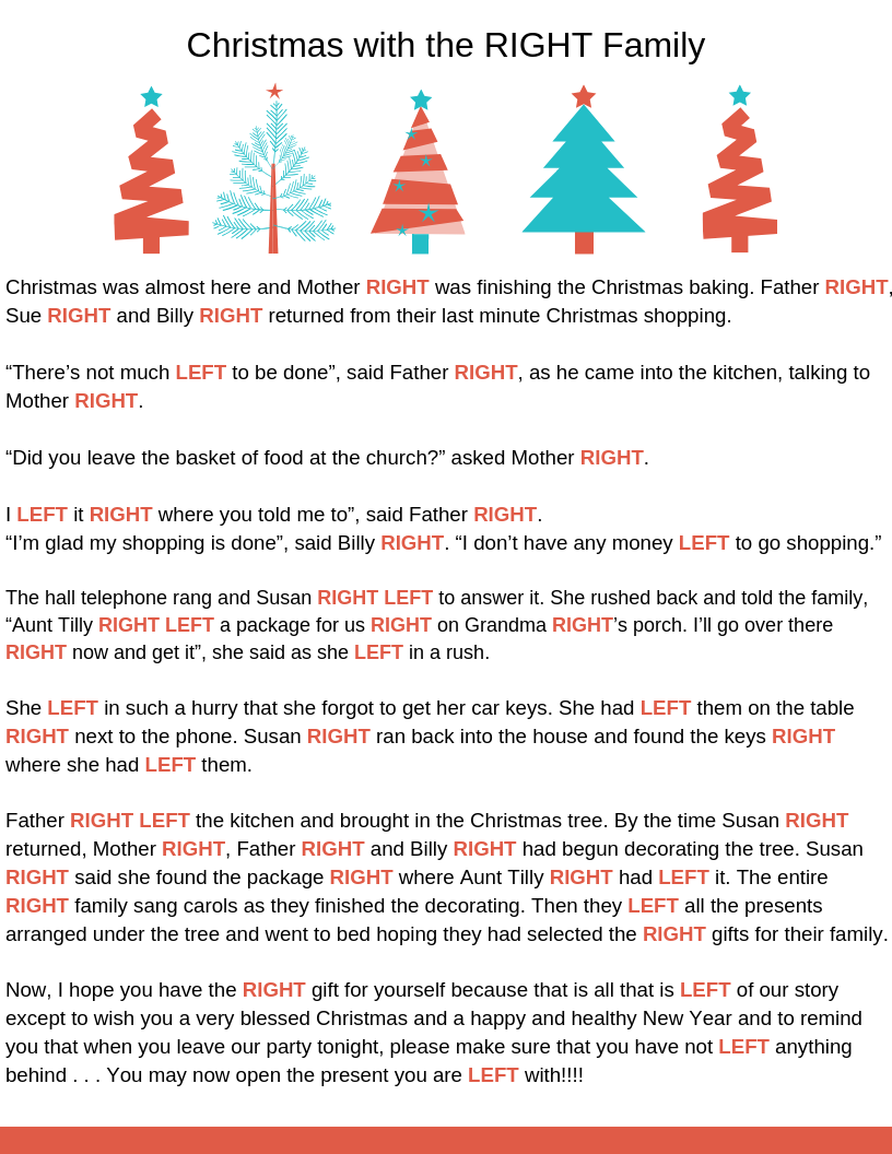 picture about Christmas Left Right Game Printable titled Merely B: Xmas Pleasurable and Online games [printable connection]