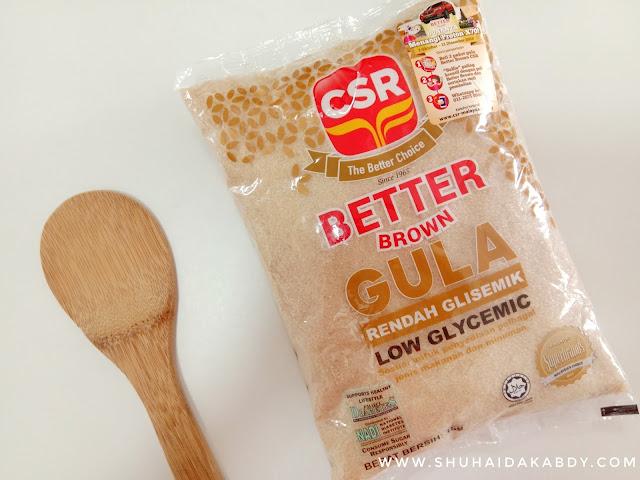 Jom Tukar Pilihan Kepada Gula Better Brown CSR