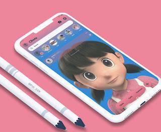 Shizuka Theme For RC YOWhatsApp Glax By Iwang