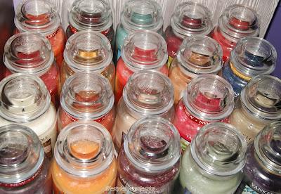 Moja kolekcja świec