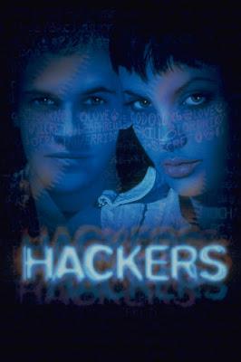 Póster película Hackers, piratas informáticos