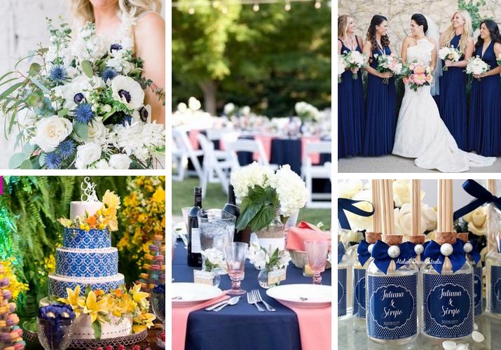 Casamento Azul Marinho