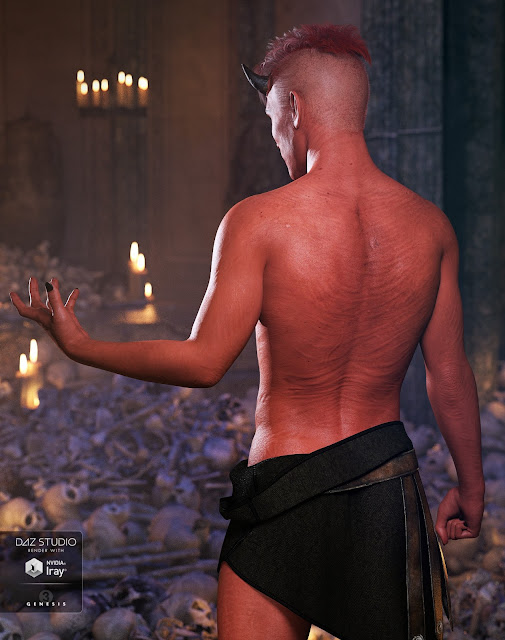Damien Demon for Genesis 3 Male
