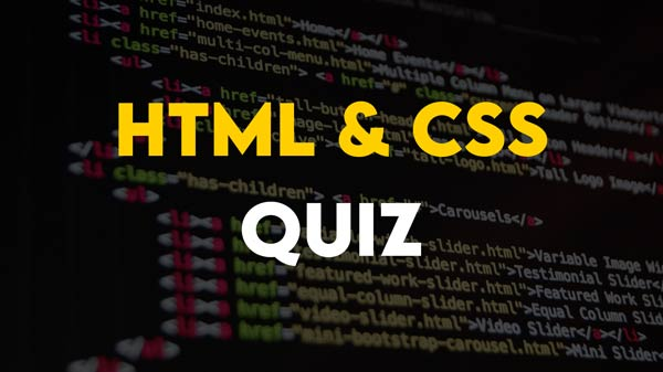 HTML and CSS related Multiple Choice Questions Part 2