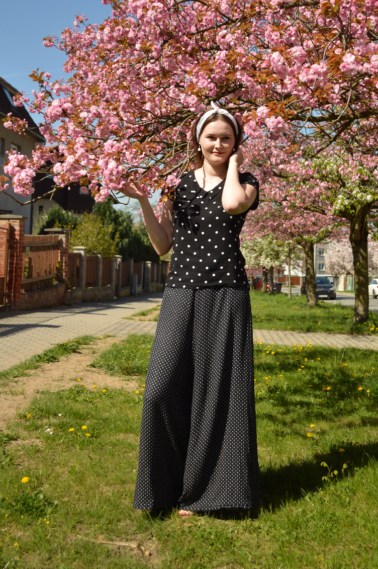 georgiana quaint, palazzo pants, video lookbook, outfit lookbook