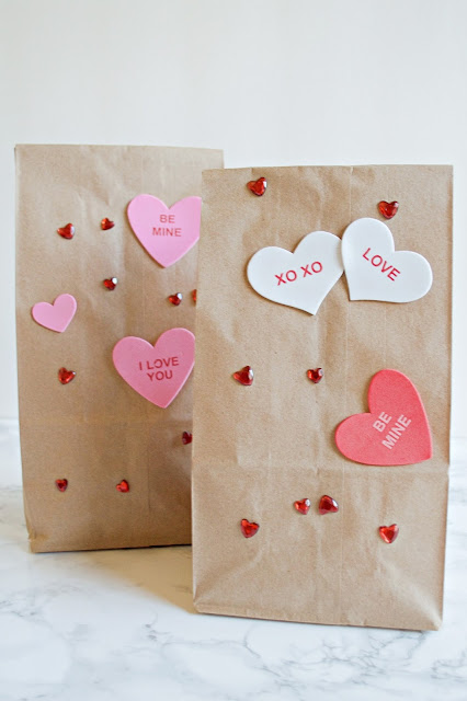 easy Valentine's Day craft for kids