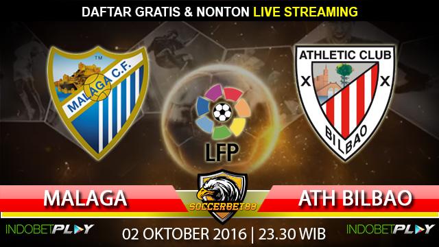 Prediksi Malaga vs Athletic Bilbao 02 Oktober 2016 (Liga Spanyol)