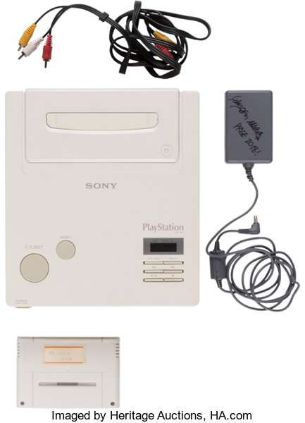 Nintendo Play Station Langka Dilelang (ha.com)