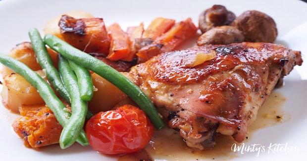 Roast Honey-Soy Chicken Recipe