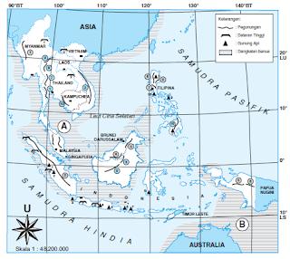 Bentang Alam Asia Tenggara Secara Umum