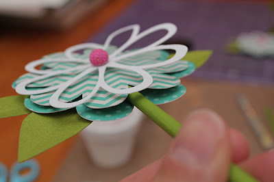 Layered Flower Tutorial by Juliana Michaels