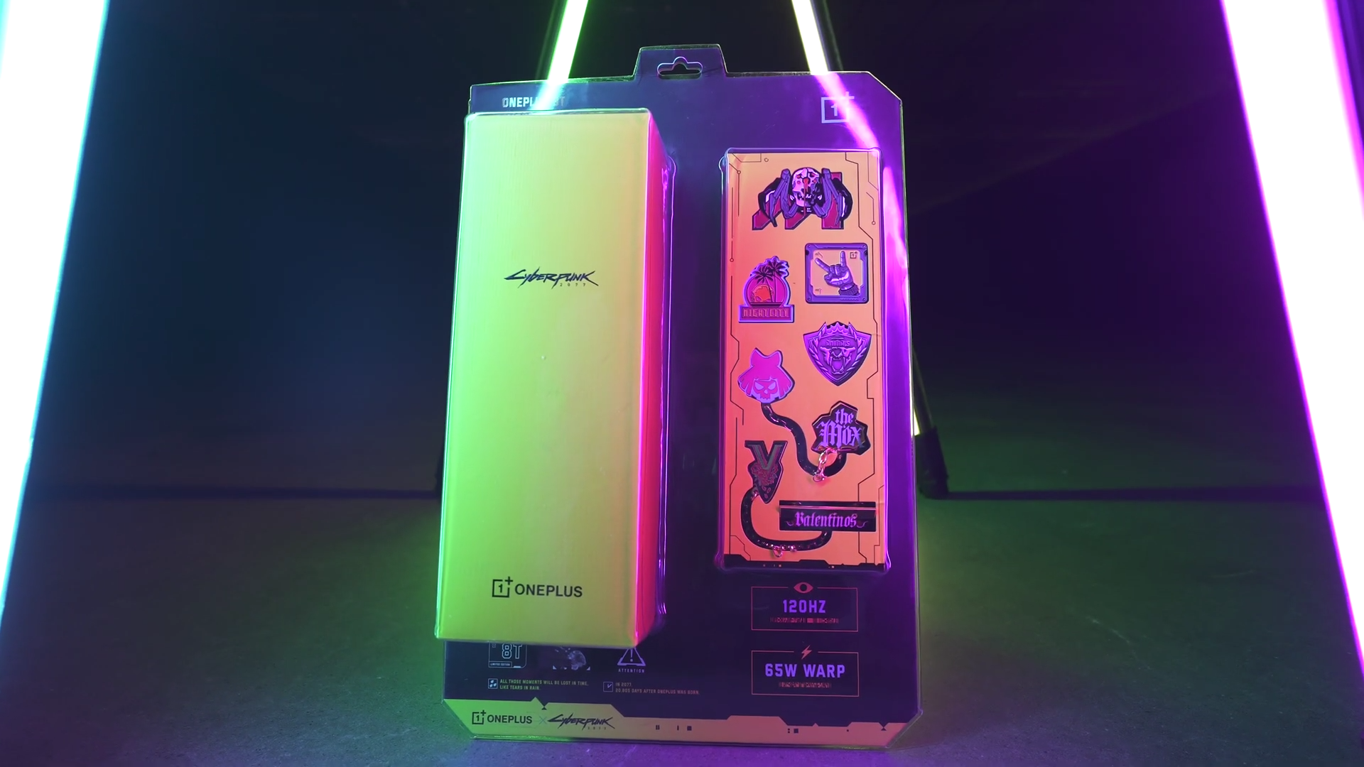 Oneplus 8t Cyberpunk 2077 limited Edition