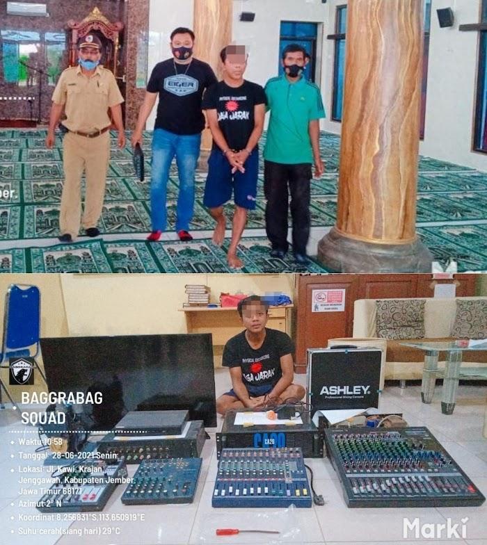 Terungkap ! Pencuri 15 TKP Masjid Di Jember, Ternyata Residivis Kasus Pemerkosaan