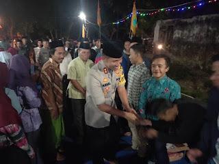 PC PMII dan Kapolres Lumajang Sholat Ghoib Serta Doa Bersama Atas  Kepergian  Randi