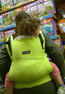 isara ssc fullbuckle anis préformé test review babycarrier avis colimaçon & cie babywearing portage vert anis
