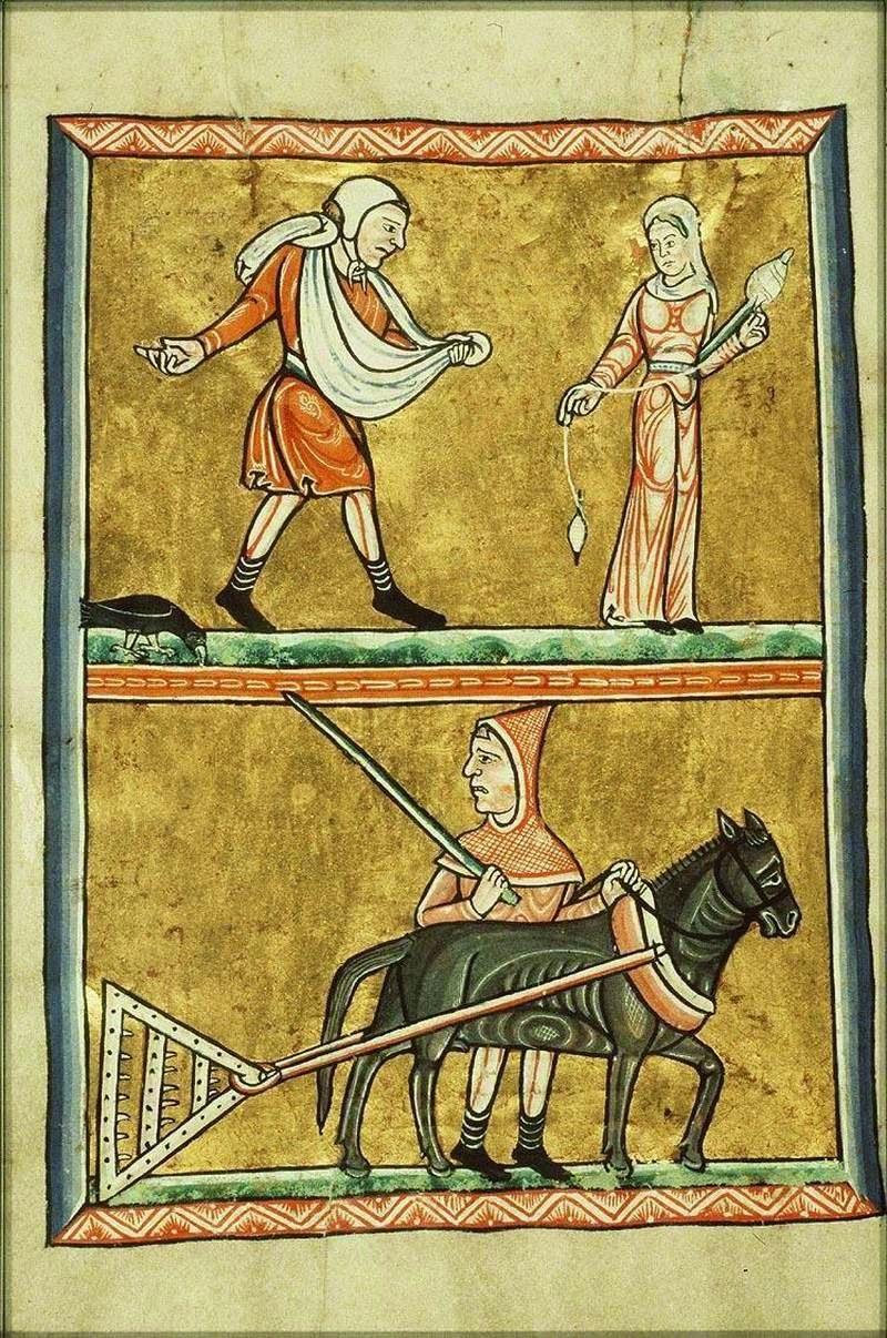 średniowieczna moda