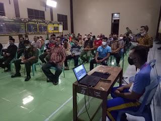 Dalam rangkaian kegiatan TNI Manunggal Membangun Desa (TMMD) ke-111 T.A. 2021