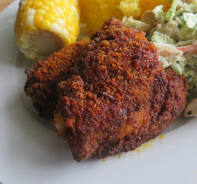 Small Batch Fried Chicken (air fryer or oven)