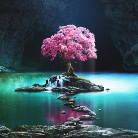 Sakura Tree of Life Wallpaper Engine