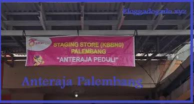 Alamat, nomor telepon Anteraja palembang, tarif ongkir, cek ongkir