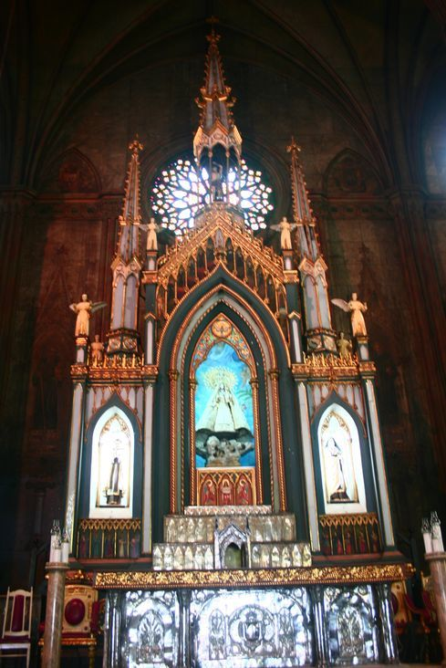 San Sebastian Church altar