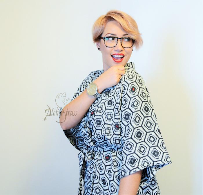 gabardina como vestido