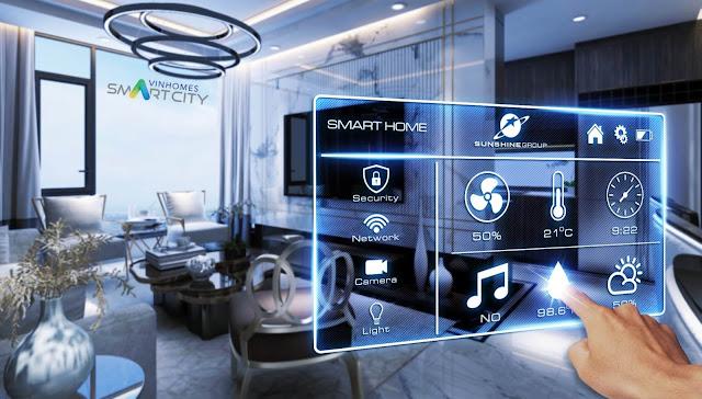 Công nghệ Smart Home bên trong căn hộ Vinhomes Tây Mỗ