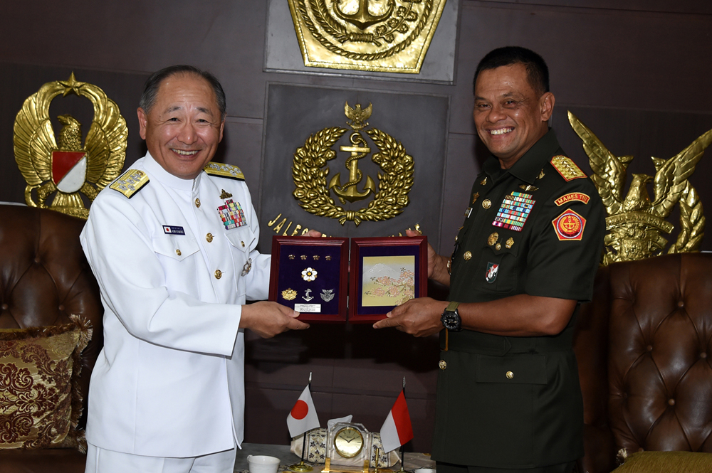 Kerjasama TNI dan Angkatan Bersenjata Jepang Perlu Ditingkatkan
