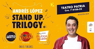 STAND UP TRILOGY de Andrés López