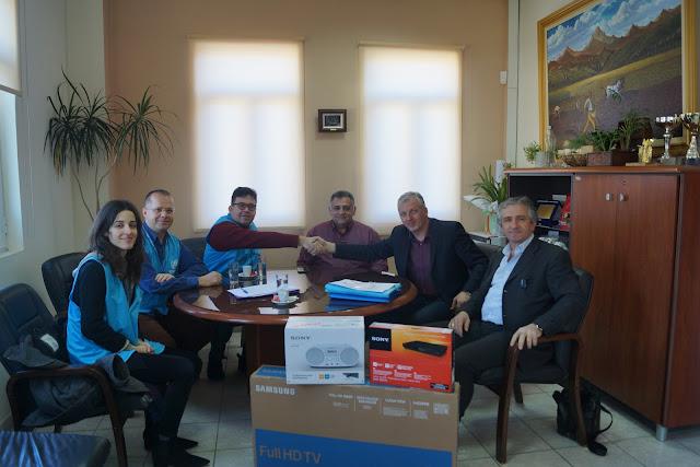 Γιάννενα: Δωρεά εκπαιδευτικού υλικού και εξοπλισμού για το βρεφονηπιακό σταθμό στη Δ.Κ. Ελεούσας από την Ύπατη Αρμοστεία του ΟΗΕ