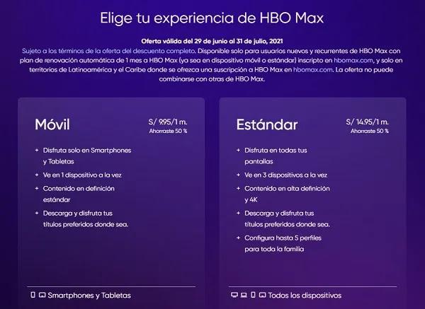 HBO MAX EN PERÚ Y LATINOAMERICA