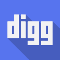 digg shadow icon