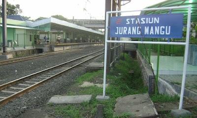 Alamat Stasiun Jurang Mangu