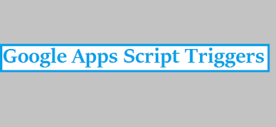 Google Apps Script Time Based Trigger Date and Time
